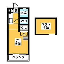 テイクハウス[2階]の間取り