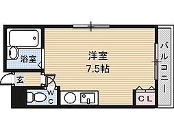 シャンスー源氏ケ丘[2階]の間取り
