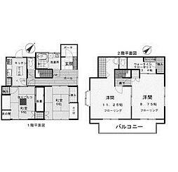 [一戸建] 神奈川県相模原市南区豊町 の賃貸【/】の間取り