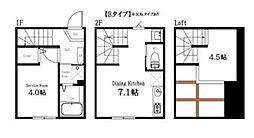 [テラスハウス] 東京都大田区久が原4丁目 の賃貸【/】の間取り
