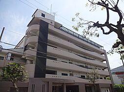 大阪府大阪市東住吉区矢田6丁目の賃貸マンションの外観