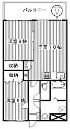 ママダマンション[203号室号室]の間取り