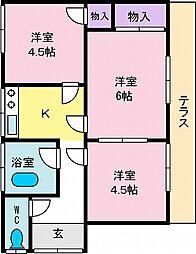 甲府駅 4.5万円