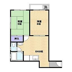 TSSマンション[1階]の間取り