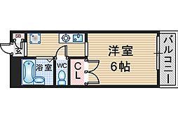 メゾンラフォーレ[102号室]の間取り