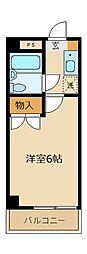 パレ・ドール朝霞[207号室]の間取り