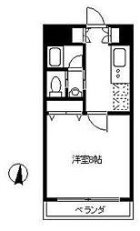 フレンディ茅ヶ崎[3階]の間取り