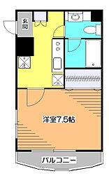 東京都西東京市芝久保町3丁目の賃貸マンションの間取り