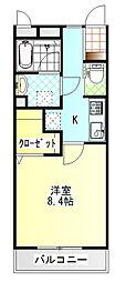 ジ・アパートメント荻窪III[302号室]の間取り