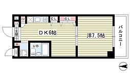 大阪府豊中市西泉丘3丁目の賃貸マンションの間取り