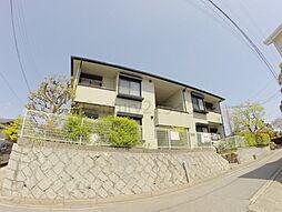兵庫県宝塚市宮の町の賃貸アパートの外観