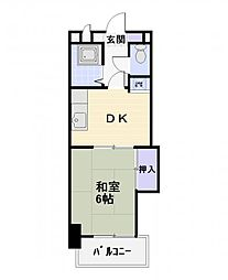 トップ辻堂第3[2階]の間取り