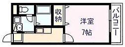 アンプルールフェールREALIFE2[1階]の間取り