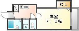 BIGBAN[1階]の間取り