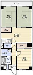 和田ハイツ[202号室]の間取り