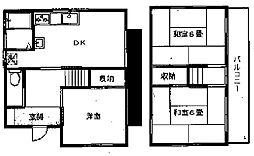 [一戸建] 東京都八王子市東浅川町 の賃貸【東京都 / 八王子市】の間取り