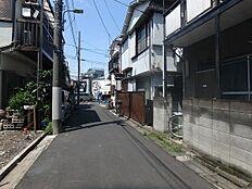 前面道路(南方向)