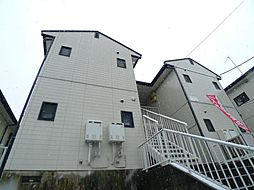 千葉県松戸市八ヶ崎5丁目の賃貸アパートの外観