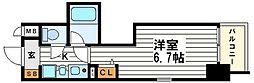 エステムコート大阪城南2[6階]の間取り