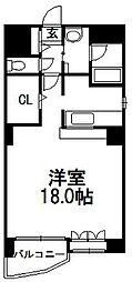 北海道札幌市中央区大通西22丁目の賃貸マンションの間取り