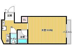 ホープハウス3[3階]の間取り