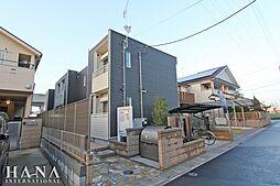 埼玉県八潮市大字南川崎の賃貸アパートの外観