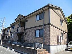 福岡県北九州市八幡西区御開1丁目の賃貸アパートの外観