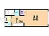 間取り,1K,面積27.65m2,賃料3.8万円,札幌市営南北線 北24条駅 徒歩8分,札幌市営南北線 北18条駅 徒歩12分,北海道札幌市北区北二十一条西6丁目1番34号