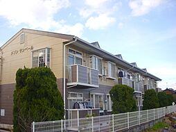 滋賀県栗東市出庭の賃貸アパートの外観