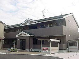 京都府城陽市富野乾垣内の賃貸アパートの外観