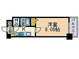 エンクレスト赤坂壱番館[4階]の間取り