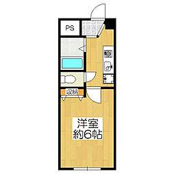 南谷ハイツ[2階]の間取り