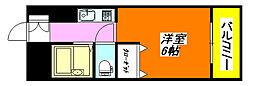 イースト・コトブキ 305号室[3階]の間取り