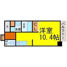 愛知県名古屋市中村区香取町1丁目の賃貸マンションの間取り