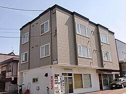 プラザ福住[3階]の外観