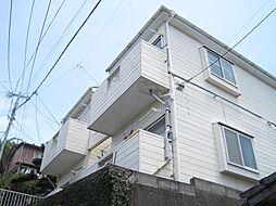 長崎県長崎市日の出町の賃貸アパートの外観