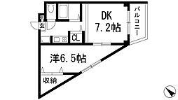 加茂ローゼンハイム[2階]の間取り
