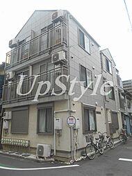 東京都荒川区荒川7の賃貸アパートの外観
