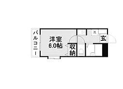 Casa felice[4階]の間取り