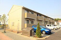 茨城県つくば市島名香取台の賃貸アパートの外観