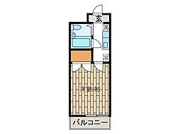 孝友第6ビルグリーンハイツ麻生[3階]の間取り