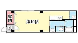 シルフィード大倉山[3F号室]の間取り
