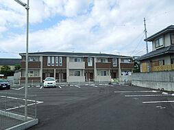 愛媛県松山市久米窪田町の賃貸アパートの外観