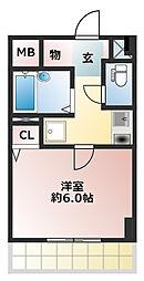 六甲ヒノキ[2階]の間取り