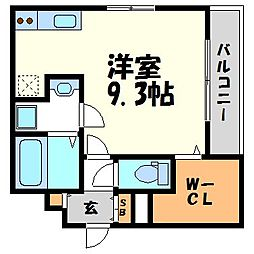 仮称)メゾンエトワール高松町[3階]の間取り