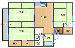 長崎県長崎市香焼町の賃貸アパートの間取り