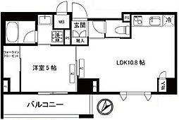 ガーデンヒルズ柿ノ木坂[3階]の間取り
