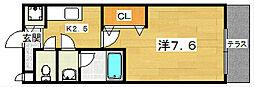 プラス ドゥ ルポ[1階]の間取り