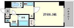 ララプレイス京町堀プロムナード[11階]の間取り