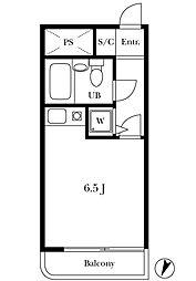 ライオンズマンション豪徳寺第3[3階]の間取り